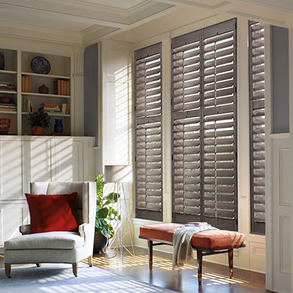 Stop in to Laurie's Flooring & Window Fashions showroom today and see our large selection of premium Hunter Douglas window fashions