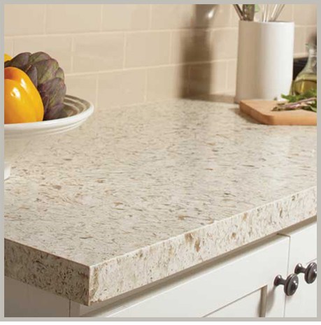 One Quartz Snow Leopard Countertops.