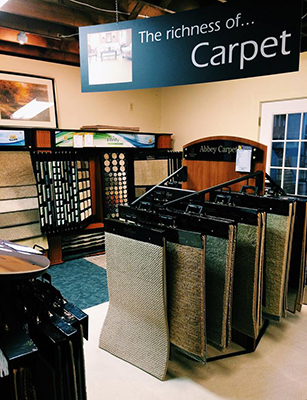 Let Laurie's show you the wide range of carpet selections in our beautiful showroom!